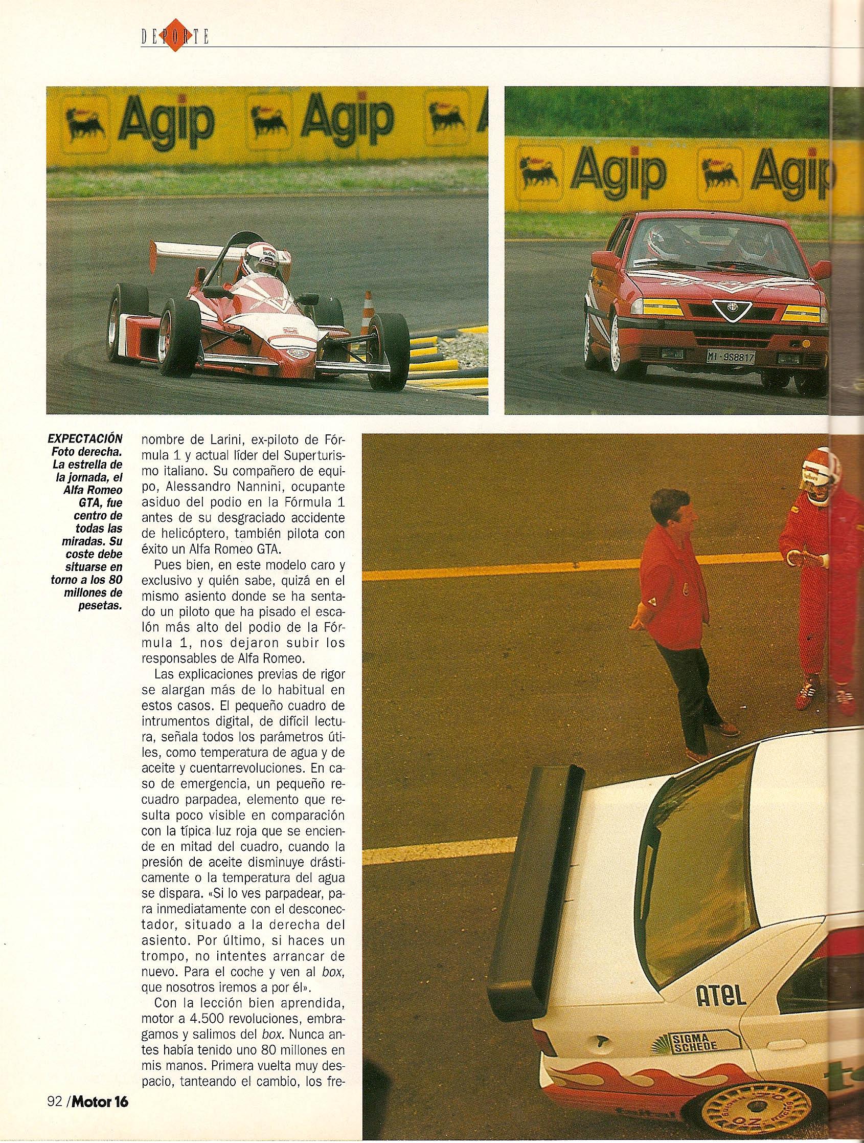 BerlinaSportivo - Alfa Romeo 155 Q4 and Sports Saloons on